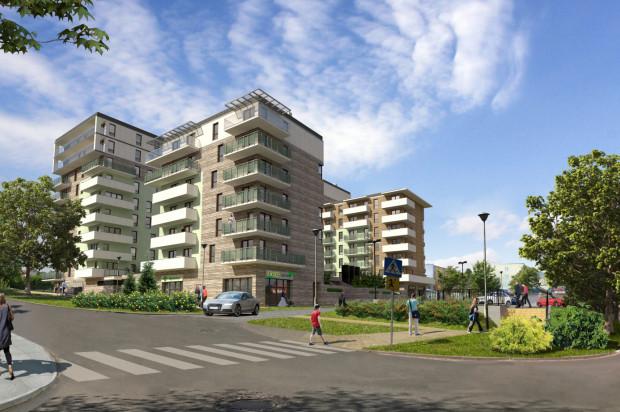 Kompleks składał się będzie z czterech budynków mieszkalnych.
