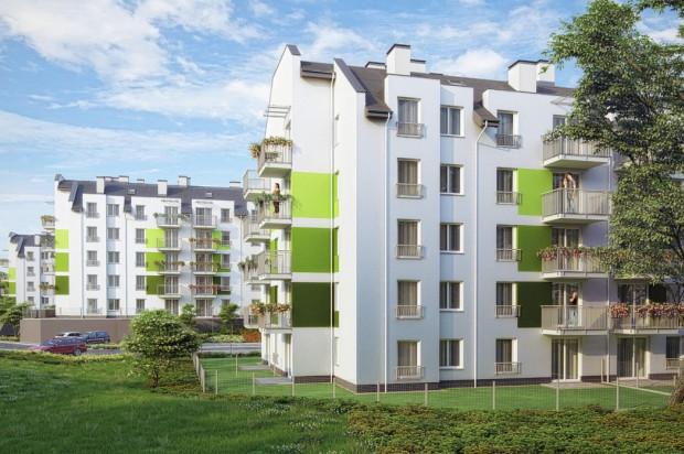 Budynki osiedla stworzą przyjazne dla przyszłych mieszkańców osiedle.