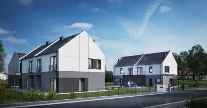 Trzy budynki, czyli razem sześć domów zostanie ogrodzone i będzie monitorowane okiem kamery.