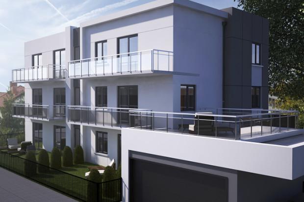 W kameralnym budynku powstanie zaledwie sześć lokali mieszkalnych.