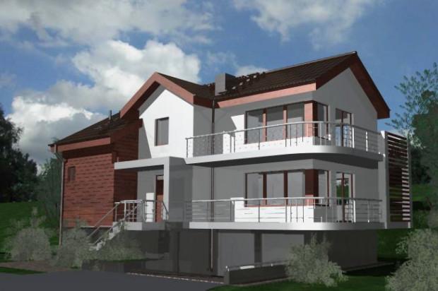 W każdym budynku będą zaledwie dwa lokale mieszkalne.