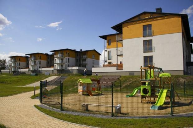 Realizacja dwóch budynków na terenie osiedla zakończyła się w 2011 roku.
