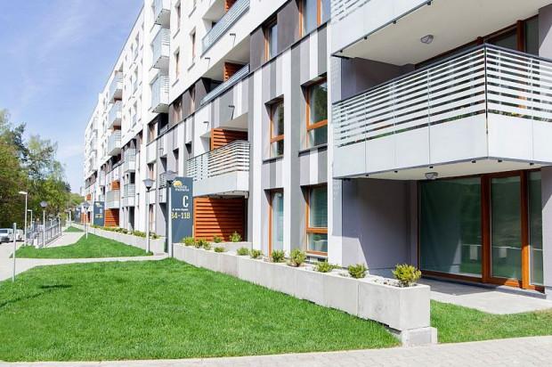 Pierwszy budynek osiedla został oddany w 2017 roku.
