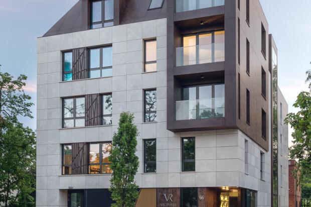 W budynku powstało zaledwie 18 kameralnych apartamentów.