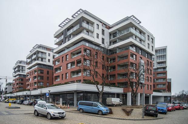 Oddany do użytkowania w 2017 roku kwartał zabudowy mieszkaniowo - biurowej.