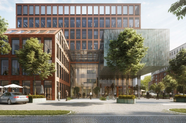 Biurowiec Gato zostanie zrealizowany do pierwszego kwartału 2021 roku.