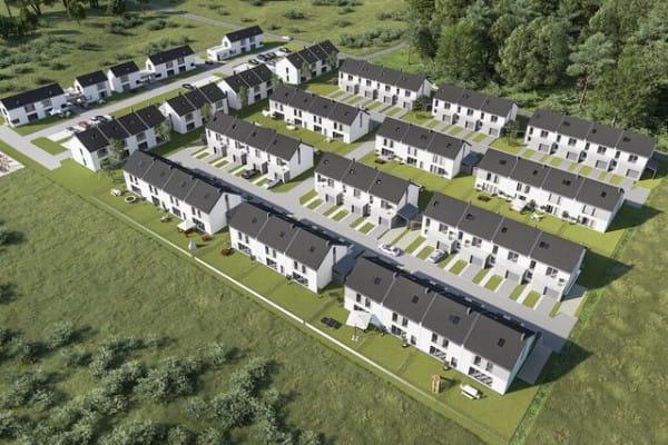 W przyszłości osiedle stworzy jednostkę domów szeregowych o spójnej architekturze.