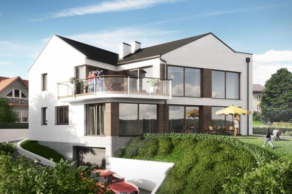Budynek będzie miał duże okna doskonale doświetlające wnętrza.