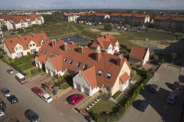 Domy oddane do użytkowania w 2016 roku.