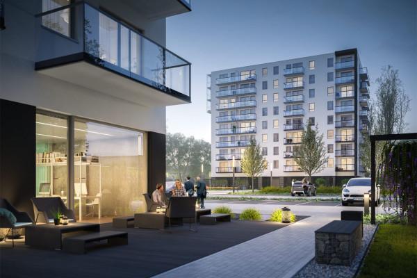 W budynku drugiego etapu inwestycji powstanie część wspólna przeznaczona do użytkowania przez wszystkich mieszkańców.