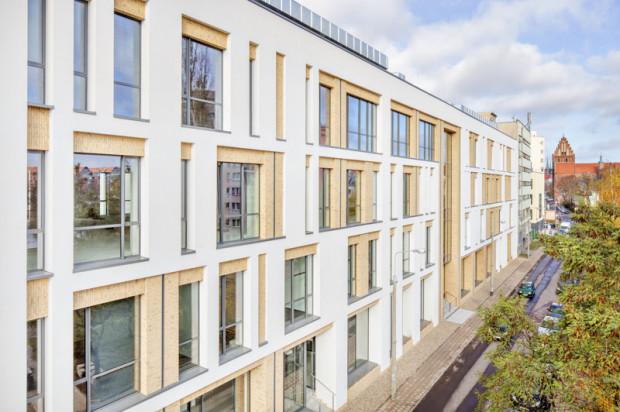 Pierwszy budynek kompleksu biurowego oferuje 4 500 m kw. powierzchni najmu.