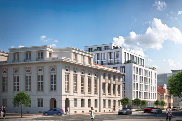 Kompleks stworzą dwa budynki w odmiennych stylach architektonicznych, ale w gdyńskim charakterze.