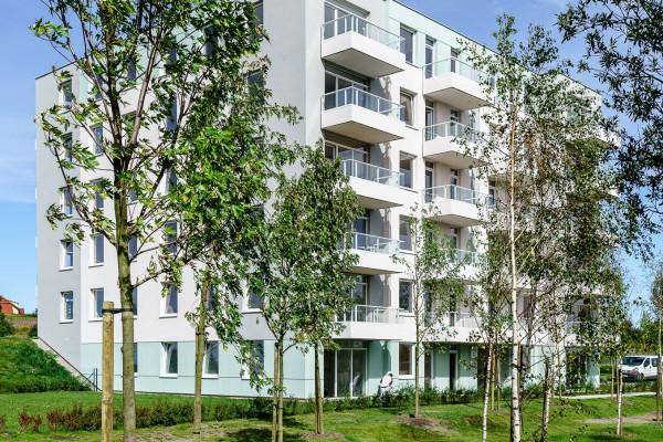 W ramach inwestycji powstały cztery budynki z segmentu popularnego.
