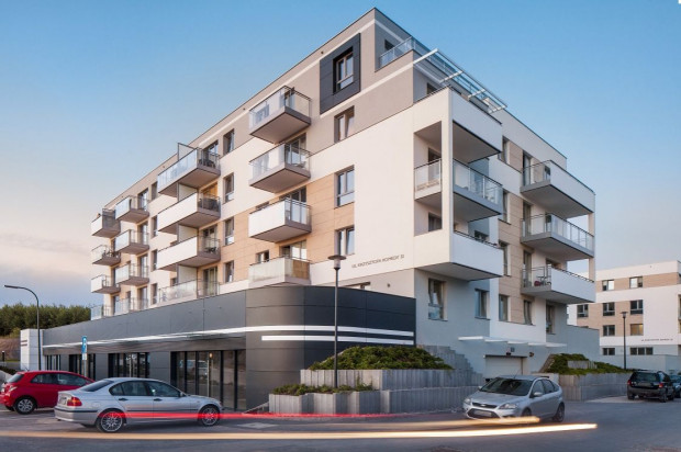 Dwa pierwsze budynki osiedla zostały oddane do użytkowania w 2018 roku.