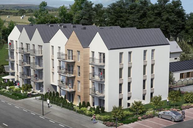 Mieszkania na najwyższej kondygnacji budynku mają ponadstandardową wysokość.