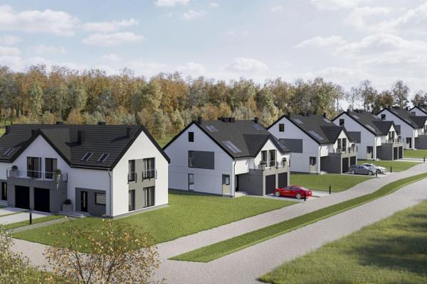 Zielona Sadyba to zaledwie 14 domów przy kameralnej ulicy w Jankowie.
