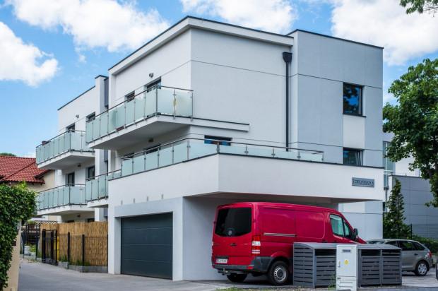 W kameralnym budynku powstało zaledwie sześć apartamentów.