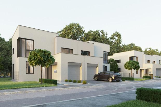 Inwestycja stworzy spójne architektonicznie podmiejskie osiedle.