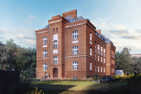 Bryła oraz oryginalny podział okien w budynku zostaną zachowane.