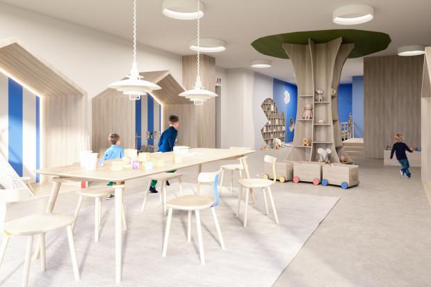 Planowane przestrzenie wspólne -pokój zabaw dla dzieci.