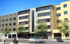 Nowy budynek przy Warszawskiej będzie uzupełnieniem pierzei tej ulicy.