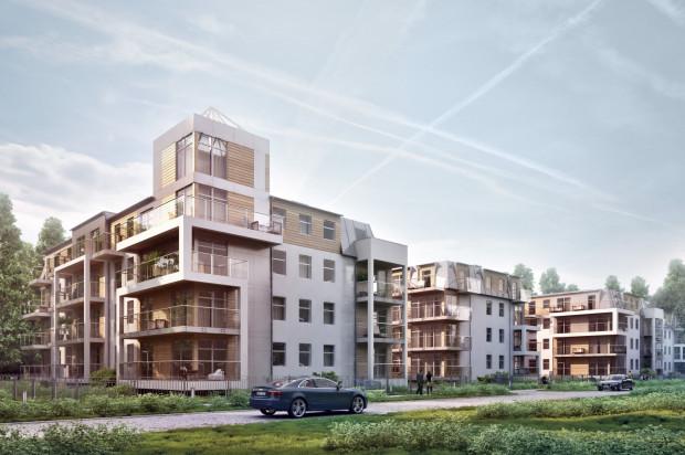 Stylistycznie osiedle będzie się komponować z sąsiadującą z nim zabudową.