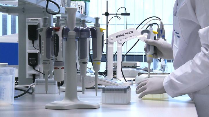 Laboratorium Polpharma Biologics wGdańsku.