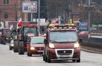 Protest pomorskich rolników w Gdańsku