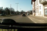Łoś w Audi - GD 021FG - pokazuje co potrafi