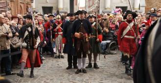 Historyczna zmiana warty w Gdańsku