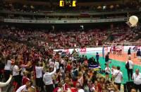 Reprezentacja Polski wybiegła na boisko w ERGO ARENIE