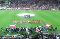 Prezentacja przed meczem Polska-Dania