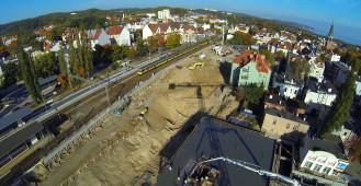 Okiem żurawia: przebudowa dworca w Sopocie