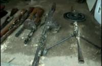 Zabytkowa broń znaleziona u kolekcjonera