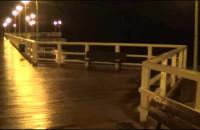 Spokojne morze z molo w Brzeźnie