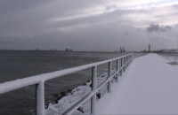 Dobre warunki pogodowe na zatoce