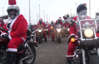 Mikołaje na Motocyklach. Reportaż
