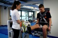 Piłkarze Lechii na badaniach w klinice Rehasport
