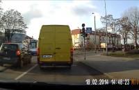 Autobusem na czerwonym