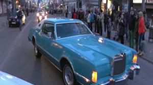 Parada starych samochodów na przywitanie wiosny.