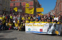 """Akcja """"Pola Nadziei"""" na ulicach w centrum Gdańska"""