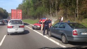 Wypadek - obwodnica w kierunku Gdyni