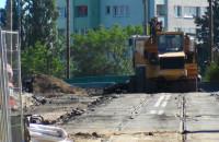 Postępy przy przebudowie linii tramwajowej na Przeróbkę