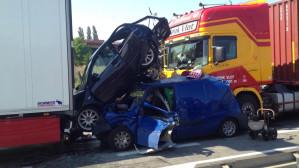 Wypadek na zjeździe z Estakady Kwiatkowskiego