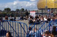 Fani Justina Timberlake'a czekają już pod stadionem