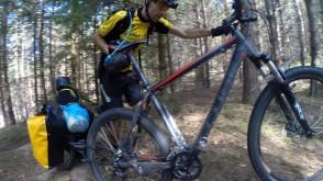 Bezdroża Zaborskiego Parku Krajobrazowego na rowerze