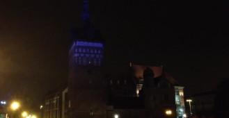 Iluminacja Wieży Więziennej w Gdańsku
