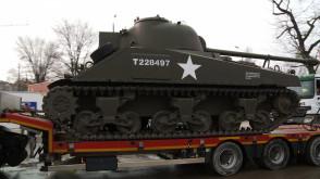 Największe eksponaty Muzeum II Wojny Światowej