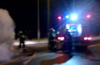 Gdyński autobus zapalił się w Żukowie