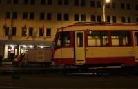 Rozładunek pierwszego tramwaju z Kassel